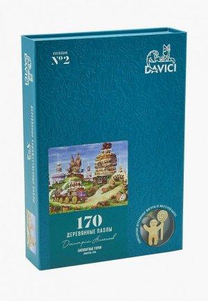 Пазл Davici Бисквитные горки, 170 деталей. Цвет: разноцветный