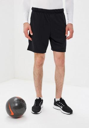 Шорты спортивные Nike DRY MENS FLEECE TRAINING SHORTS. Цвет: черный