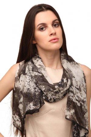Палантин Ungaro. Цвет: серый, черный