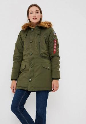 Парка Alpha Industries Polar Jacket. Цвет: хаки