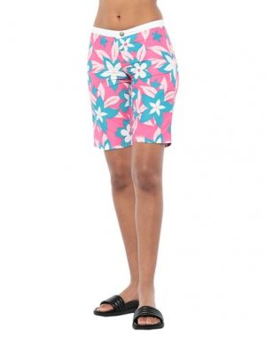 Пляжные брюки и шорты SUNDEK. Цвет: фуксия
