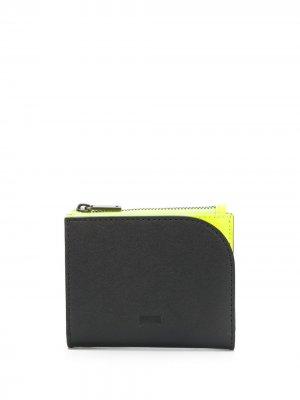 Маленький кошелек Naveen Camper. Цвет: черный