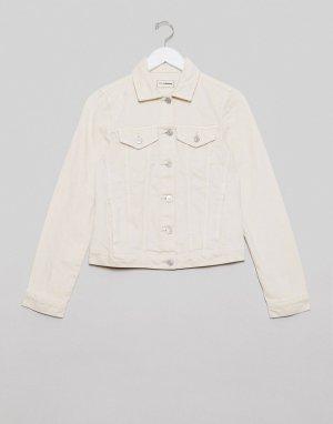 Белая джинсовая куртка -Белый Pimkie