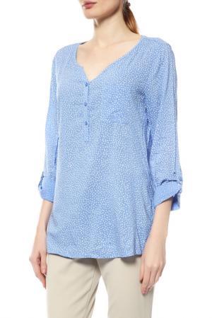 Блуза Comma. Цвет: голубой