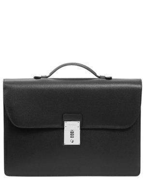 Кожаный портфель CANALI