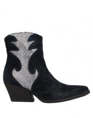 Полусапоги и высокие ботинки CHIARINI BOLOGNA. Цвет: темно-синий