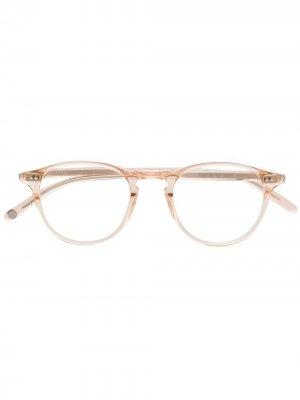 Солнцезащитные очки Hampton Garrett Leight. Цвет: нейтральные цвета