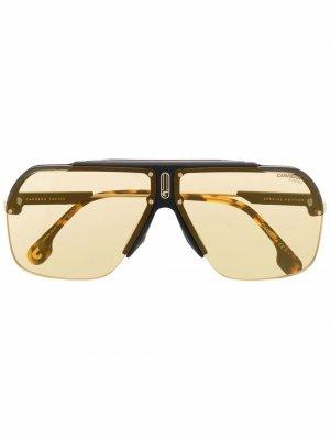 Солнцезащитные очки-авиаторы 1031/S Carrera. Цвет: коричневый