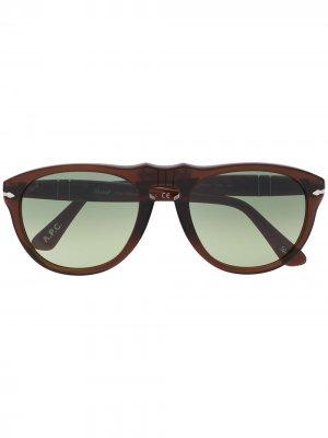 Солнцезащитные очки-авиаторы с градиентными линзами A.P.C.. Цвет: коричневый