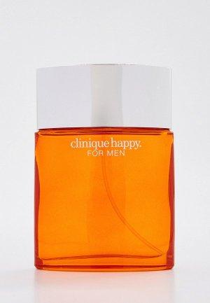 Одеколон Clinique Happy For Men Spray, 100 мл. Цвет: прозрачный