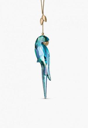 Фигурка декоративная Swarovski® покрытие золото и латунь, Jungle Beats. Цвет: разноцветный