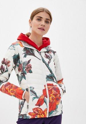 Куртка утепленная Columbia Powder Lite™ Hooded Jacket. Цвет: бежевый