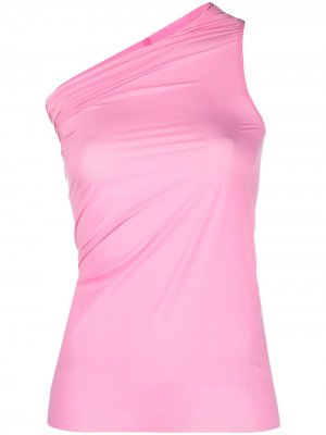 Топ Athena на одно плечо Rick Owens. Цвет: розовый