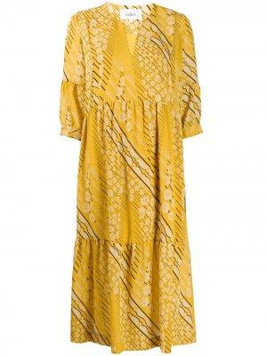 Креповое платье миди Orson Ba&Sh