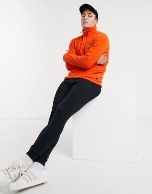 Оранжевый флисовый топ с молнией 1/4 Helly Hansen