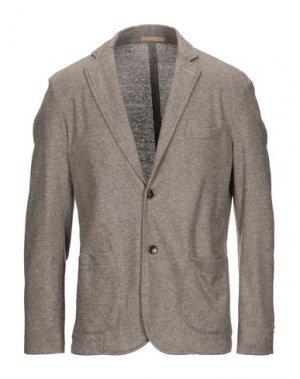 Пиджак CRUNA. Цвет: хаки