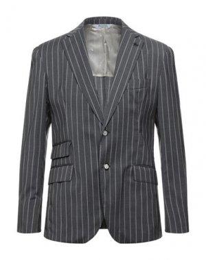 Пиджак BOTTEGA MARTINESE. Цвет: серый