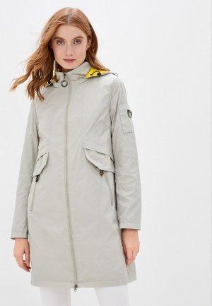 Куртка Chic & Charisma. Цвет: серый