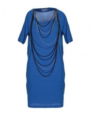Короткое платье BETTY BLUE. Цвет: синий