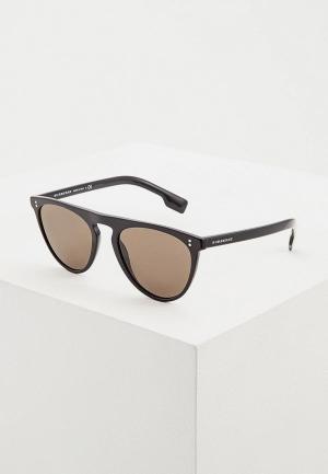 Очки солнцезащитные Burberry BE4281 3001/3. Цвет: черный