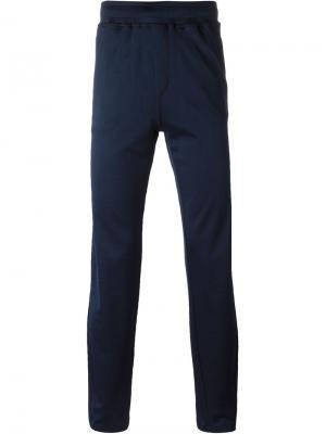 Классические спортивные брюки Lanvin. Цвет: синий