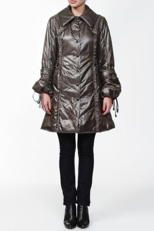Пальто Coccapani Trend. Цвет: серый