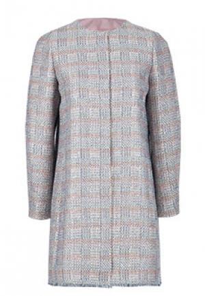 Пальто EMPORIO ARMANI. Цвет: серый