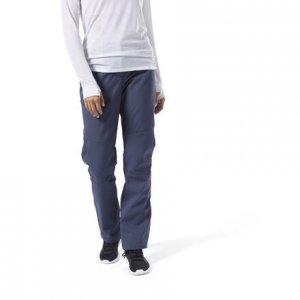 Спортивные брюки Outerwear Soft Shell Reebok. Цвет: heritage navy