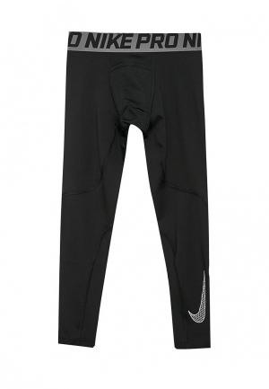Тайтсы Nike Boys Pro Tights. Цвет: черный
