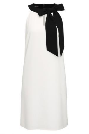 Платье Apart. Цвет: кремовый, черный