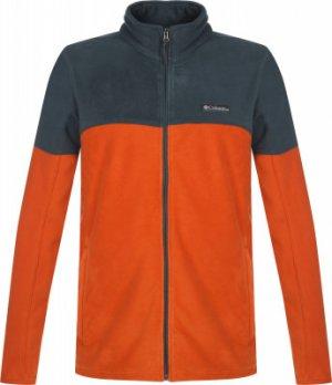 Джемпер флисовый мужской Basin Trail™ III Full Zip, размер 54 Columbia. Цвет: оранжевый