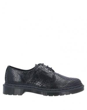 Обувь на шнурках DR. MARTENS. Цвет: черный