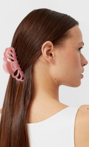 Заколка Для Волос Розовый 103 Stradivarius. Цвет: розовый