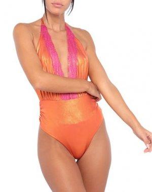 Слитный купальник ANIYE BY. Цвет: оранжевый