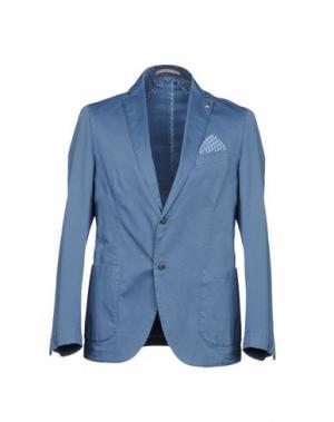 Пиджак MASSIMO REBECCHI. Цвет: грифельно-синий