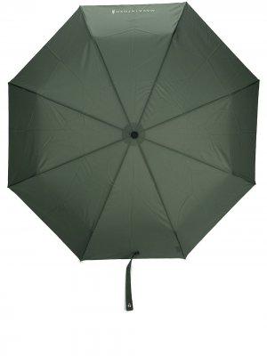 Складной зонт Ayr с телескопической ручкой Mackintosh. Цвет: зеленый
