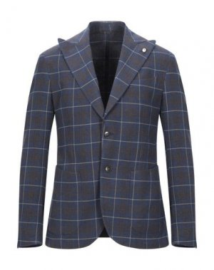 Пиджак BRANDO. Цвет: темно-синий