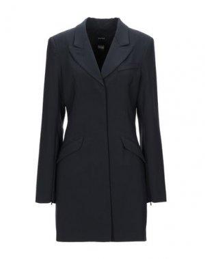 Легкое пальто SMYTHE. Цвет: черный