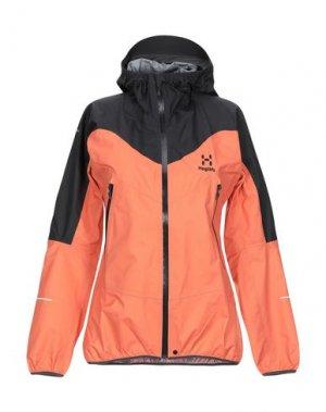 Куртка HAGLÖFS. Цвет: абрикосовый
