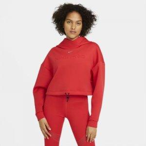Женская худи Nike Pro - Красный