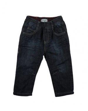 Джинсовые брюки JEAN BOURGET. Цвет: синий