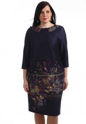 Платье Averi. Цвет: синий