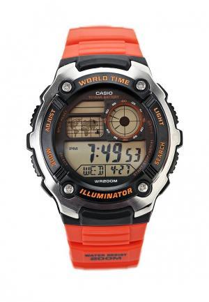 Часы Casio Collection AE-2100W-4A. Цвет: красный