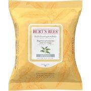 Влажные салфетки для снятия макияжа White Tea Facial Wipe Burts Bees