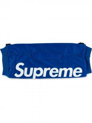 Муфта с логотипом Supreme. Цвет: синий