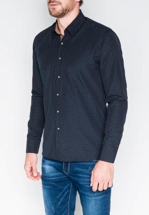 Рубашка Ombre. Цвет: синий