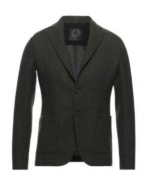Пиджак T-JACKET by TONELLO. Цвет: темно-зеленый