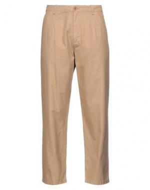 Повседневные брюки GANT. Цвет: песочный