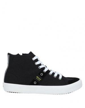 Кеды и кроссовки BLAUER. Цвет: черный