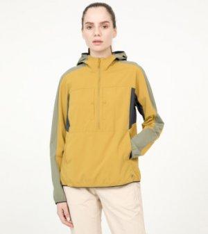 Ветровка женская Echo Lake, размер 42 Mountain Hardwear. Цвет: желтый